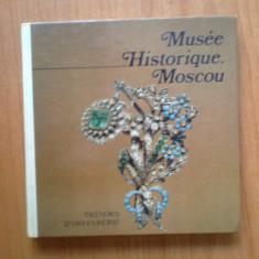 K1 Musee Historique Moscou - Tresors D'Orfevrerie - Album Muzee