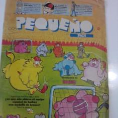 Revista Pequeno Pais - aprilie 1992 / limba spaniola / banda desenata/C rev P - Reviste benzi desenate