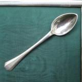#3 - Lingurita de argint masiv, 13, 5 centimetri, Tacamuri