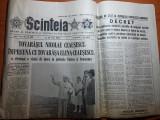 ziarul scanteia 28 iulie 1988 (vizita lui ceausescu in jud. tulcea si constanta)