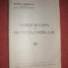 GAZELE DE LUPTA SI PROTECTIA CONTRA LOR  - MAIORUL  D. BARDAN (1936)