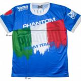 Tricou sport lupte PHANTOM Athletics Italia, original (L) cod-172155 - Tricou barbati, Marime: L, Maneca scurta, Poliester