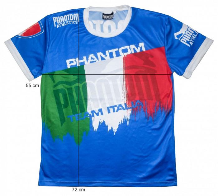 Tricou sport lupte PHANTOM Athletics Italia, original (L) cod-172155 foto mare