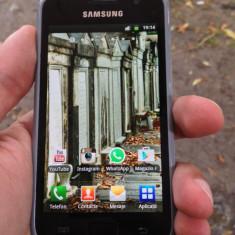 Samsung Galaxy S Plus, 1.5GB, Negru, Neblocat