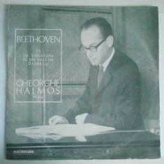 VINIL L. BEETHOVEN 33 DE VARIATIUNI PENTRU PIAN PE UN VALS DE DIABELLI OP 120 - Muzica Corala