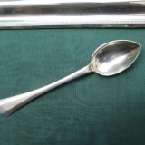 #1 - Lingurita de argint masiv, 13, 5 centimetri, Tacamuri