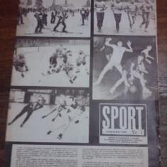 Revista Sport - nr 1,  ianuarie  1988   / C rev  P
