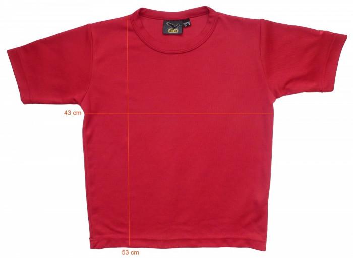 Tricou munte drumetii SALEWA stare perfecta (tineret M, 8-9 ani) cod-163314 foto mare