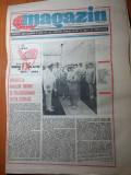 ziarul magazin 16 iulie 1988 (comanesti-nava ce mai mare construita in romania)