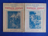 JULES VERNE - UIMITOAREA AVENTURA A MISIUNEI BARSAC ( 2 VOL. ) - INTERBELICA