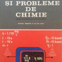 APLICATII SI PROBLEME DE CHIMIE - Ion Ionescu, Lia Cojocaru, S. Ilie, T. Nedelea - Carte Chimie