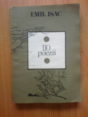 n3 Emil Isac - 110 poezii foto