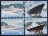 GIBRALTAR 1999 - VAPOARE DE LINIE  4 VALORI, NEOBLITERATE - GB 057