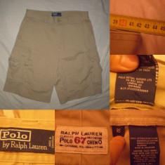 Pantaloni Scurti POLO by RALPH LAUREN Chino Classic bermude casual cargo buzuna - Bermude barbati, Marime: 32, Culoare: Din imagine