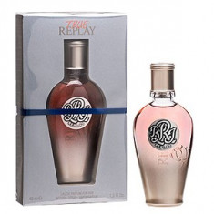 Replay True For Her EDT 40 ml pentru femei - Parfum femeie Replay, Apa de toaleta