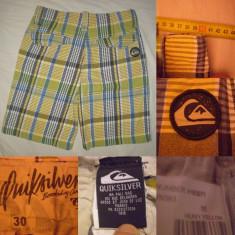 Bermude QUIKSILVER M-30 pantaloni scurti barbati casual cargo buzunare - Bermude barbati, Marime: S/M, Culoare: Din imagine