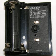 Suport baterii Minolta BH-70S pentru 4 baterii AAA