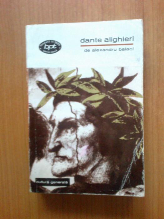 k4 Dante Alighieri - Alexandru Balaci
