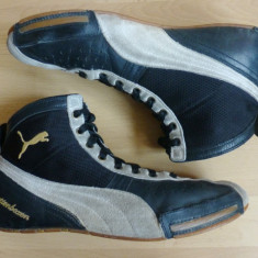 Adidasi Puma Schattenboxen, piele naturala & panza respirabila; marime 44 - Adidasi barbati Puma, Culoare: Din imagine