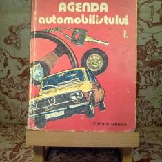"""Agenda automobilistului Vol. I """"A1782"""""""