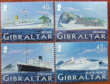 GIBRALTAR - VAPOARE DE LINIE  4 VALORI, NEOBLITERATE - GB 051