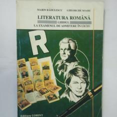 GHIDUL LA EXAMENUL DE ADMITERE IN LICEU - LITERATURA ROMANA - Teste admitere liceu