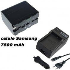 1 PATONA | Incarcator + Acumulator PREMIUM pt Sony NP F970 NPF970 celule Samsung - Baterie Camera Video