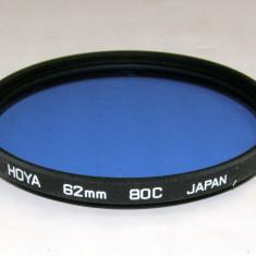 Filtru corectie culoare Hoya 80C 62mm - Filtru foto