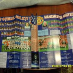 Program Otelul Galati - Manchester United - Program meci