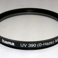 Filtru Hama UV390 (0-Haze) filet 55 mm - Filtru foto