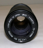 Cumpara ieftin Obiectiv Exakta 70-210mm 1:4.5-5.6 MC Macro montura Minolta MC