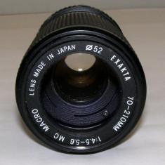 Obiectiv Exakta 70-210mm 1:4.5-5.6 MC Macro montura Minolta MC - Obiectiv RF (RangeFinder)