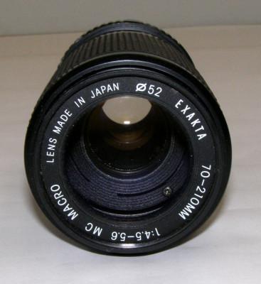 Obiectiv Exakta 70-210mm 1:4.5-5.6 MC Macro montura Minolta MC foto