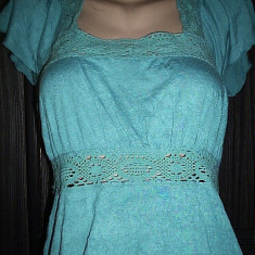 Bluza Une mode pour moi mas. 38 - Bluza dama, Culoare: Verde