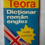 ANDREI BANTAS - DICTIONAR ROMAN-ENGLEZ SI DICTIONAR ENGLEZ-ROMAN