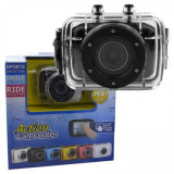 CAMERA DE ACTIUNE subacvatica - Action Camcorder HD 720p. Tip GOPRO + Accesorii, Card de memorie