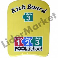 Placa pentru inot Pool School 43 x 30 x 3.5 cm