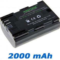 PATONA Premium | Acumulator pt Canon LP E6 70D 60D 60Da 7D 6D 5D Mark II III - Baterie Aparat foto