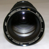 Obiectiv Soligor 35-200mm 1:3.8-5.3 montura Minolat M/MD pentru piese/reparat