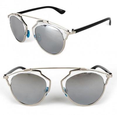 Ochelari Rotunzi similari cu Dior - protectie UV400 - unisex foto