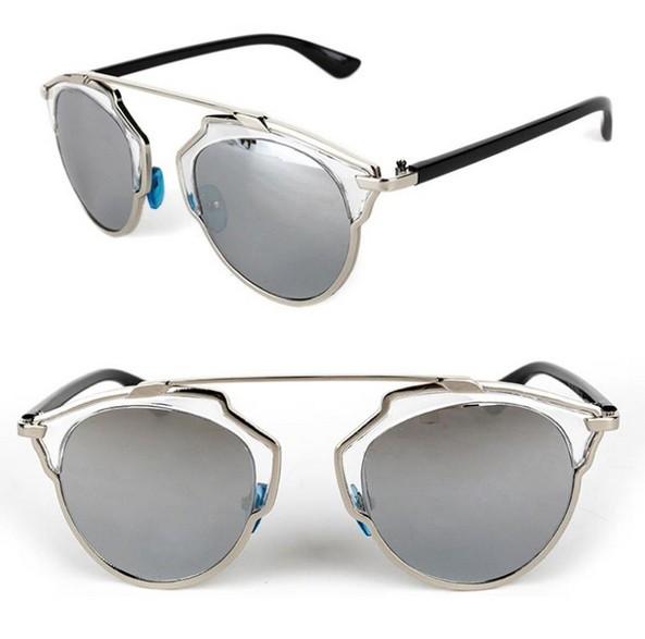 Ochelari Rotunzi similari cu Dior - protectie UV400 - unisex