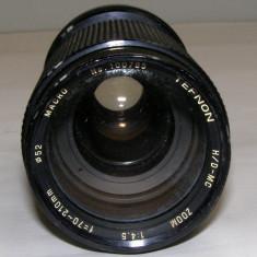 Obiectiv Tefnon Macro 70-210mm 1:4.5 montura C/FD pentru piese sau reparat - Obiectiv RF (RangeFinder)