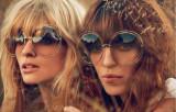 Ochelari Suprasize similari cu Karen Walker- protectie UV400 - unisex - maro