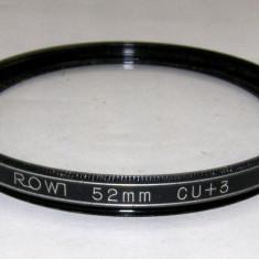 Filtru marire Rowi +3 52mm - Filtru foto