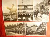 19 Fotografii -Ilustratii de propaganda Hitler si alte Pers. conducerea Germanie