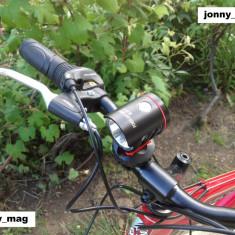 Far Bicicleta Bailong MX-819 cu Led CREE T6 si Day Light cu Touch Buton NOU - Accesoriu Bicicleta, Faruri si semnalizatoare