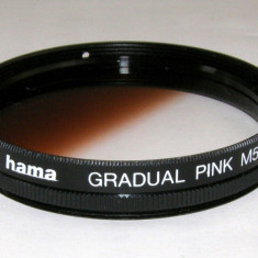 Filtru gradual roz Hama filet 52mm - Filtru foto
