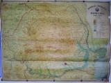 Harta Administrativa si Fizica a R. S. R.