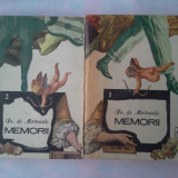 FR. DE MOTTEVILLE - MEMORII (2 VOL.) - Roman, Anul publicarii: 1991
