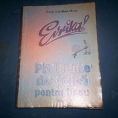 PROBLEME DE FIZICA PENTRU LICEU EMILIAN MICU - Culegere Fizica